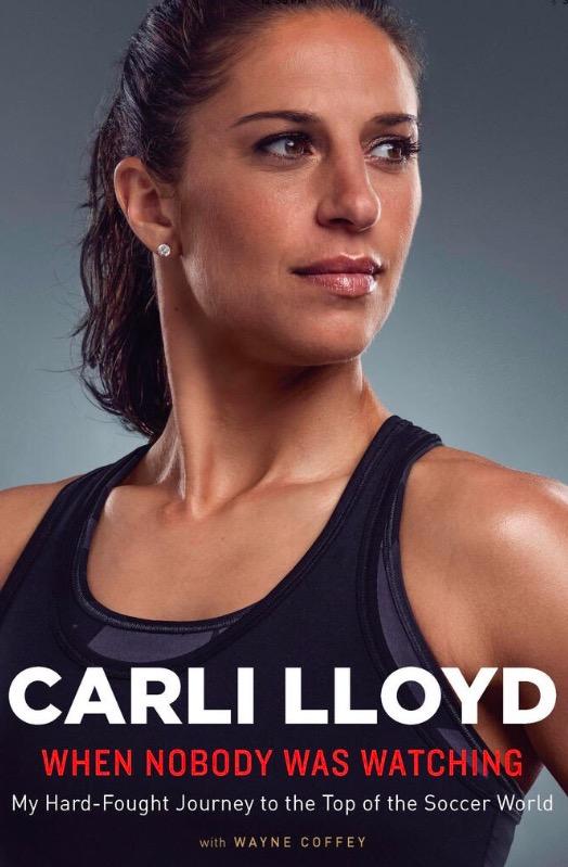 Capa da biografia de Carli Lloyd, lançada ontem nos EUA. (Foto: Reprodução)