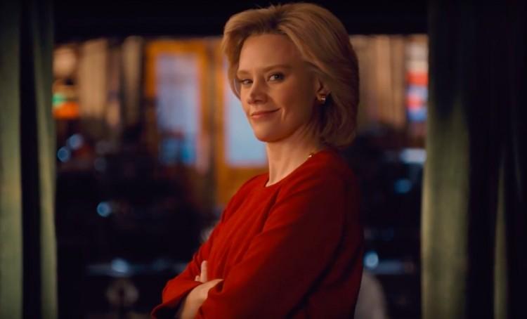 Kate McKinnon reprisa sua caracterização da democrata Hillary Clinton na volta do 'SNL'. (Foto: Reprodução)