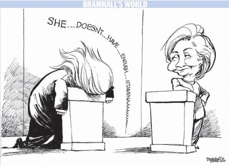 """""""Ela...não...tem...muito...vigor"""", de Bramhall para o """"Daily News"""". (Foto: Reprodução)"""