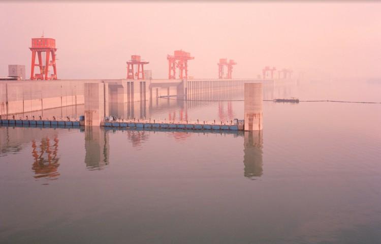 Represa em Ychang, China. (Foto: Mustafah Abdulaziz)