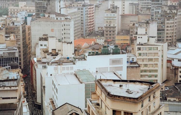 Vista aérea de São Paulo a partir do Martinelli. (Foto: Mustafah Abdulaziz)