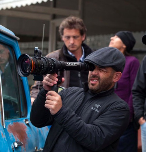 O fotógrafo Adriano Goldman em ação. (Foto: Divulgação)